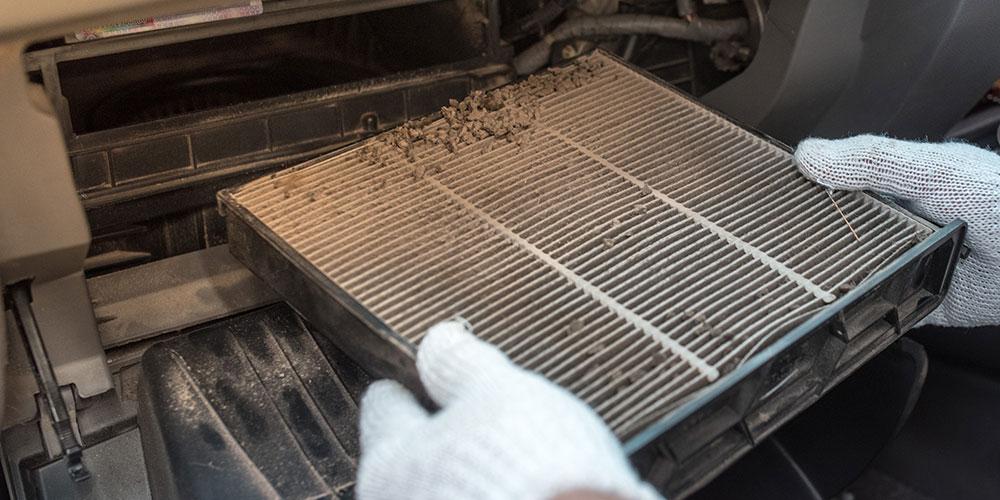 especialista-realizando-a-manutenção-de-filtro-de-cabine-para-evitar-mofo
